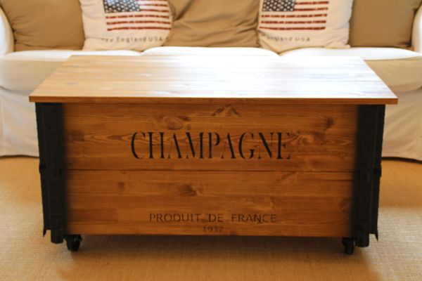 Couchtisch Truhe Xl Champagne Uncle Joe S